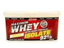 XXLabs Maximum Whey Protein Isolate 2200 g   onefit.cz
