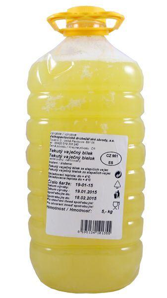 Čerstvé tekuté vaječné bílky | onefit.cz