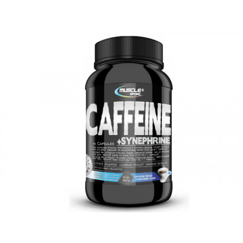 Musclesport Caffeine+Synephrine 90 kapslí