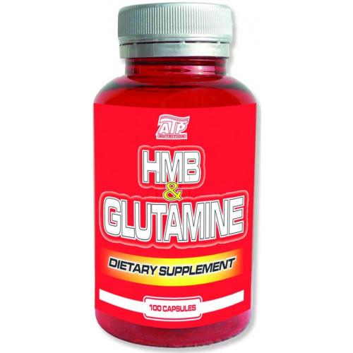 ATP Nutrition HMB   Glutamine 100 cps