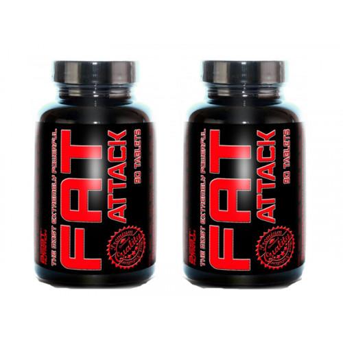 Best Nutrition Fat Attack 90 tablet + 1 ZDARMA