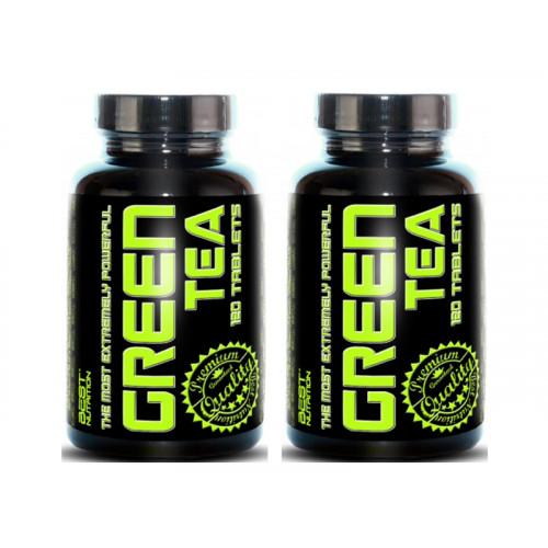 Best Nutrition Green Tea 120 tablet +  1 ZDARMA