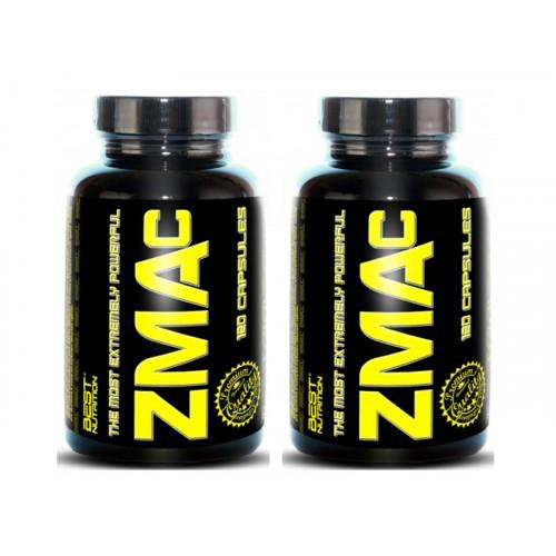 Best Nutrition ZMAc 120 kapslí +  1 ZDARMA