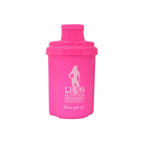 Lion Nutrition Nano šejkr 300ml růžový