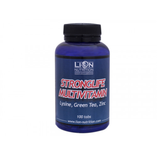 Lion Nutrition Stronglife Multivitamin 100 kapslí