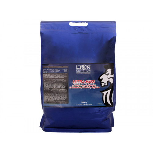 Lion Nutrition Ultra Mass s palatinózou 3000 g