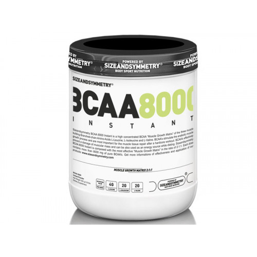 SizeAndSymmetry Instant BCAA 8000 Powder 300 g