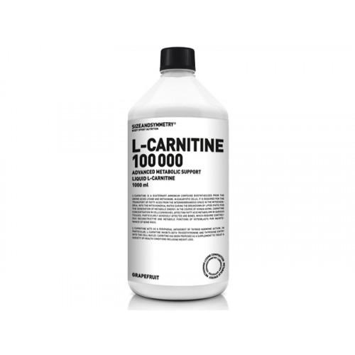 Sizeandsymmetry L-Carnitine 100 000 1000 ml